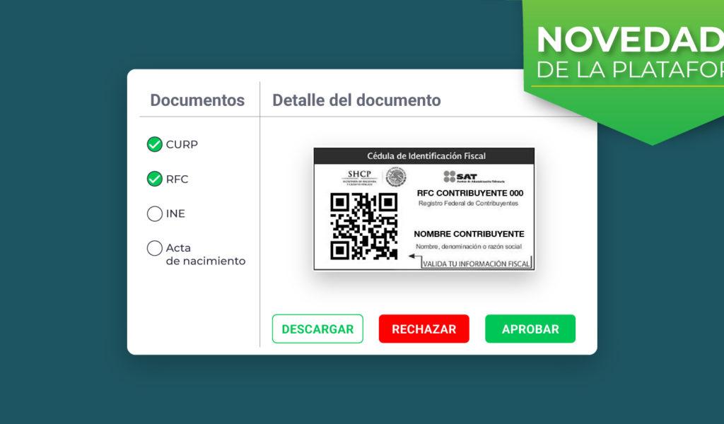 Expedientes digitales de proveedores